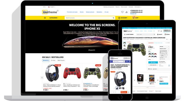 UniTheme2 - premium CS-Cart theme complex